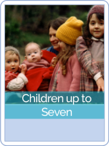 button parent cd-children up to seven