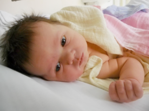 one month old baby