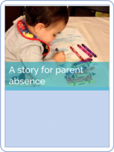 button hct Story for an absent parent
