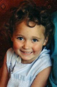Girl aged four
