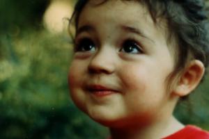 three year old girl