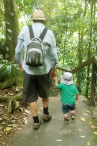 dad and child on a walk _v2