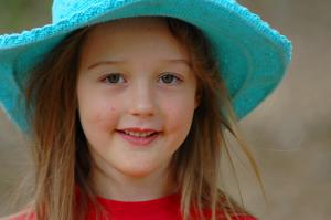 girl age six